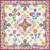 Free Quilt Pattern:  Queen's Garden BOM: Part 1