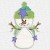 Free Embroidery Designs:  Snowman