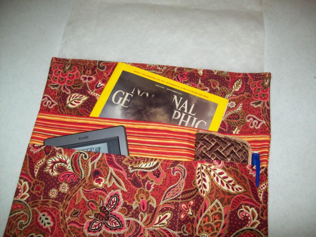 Free Sewing Pattern: Bedside Caddy | I Sew Free