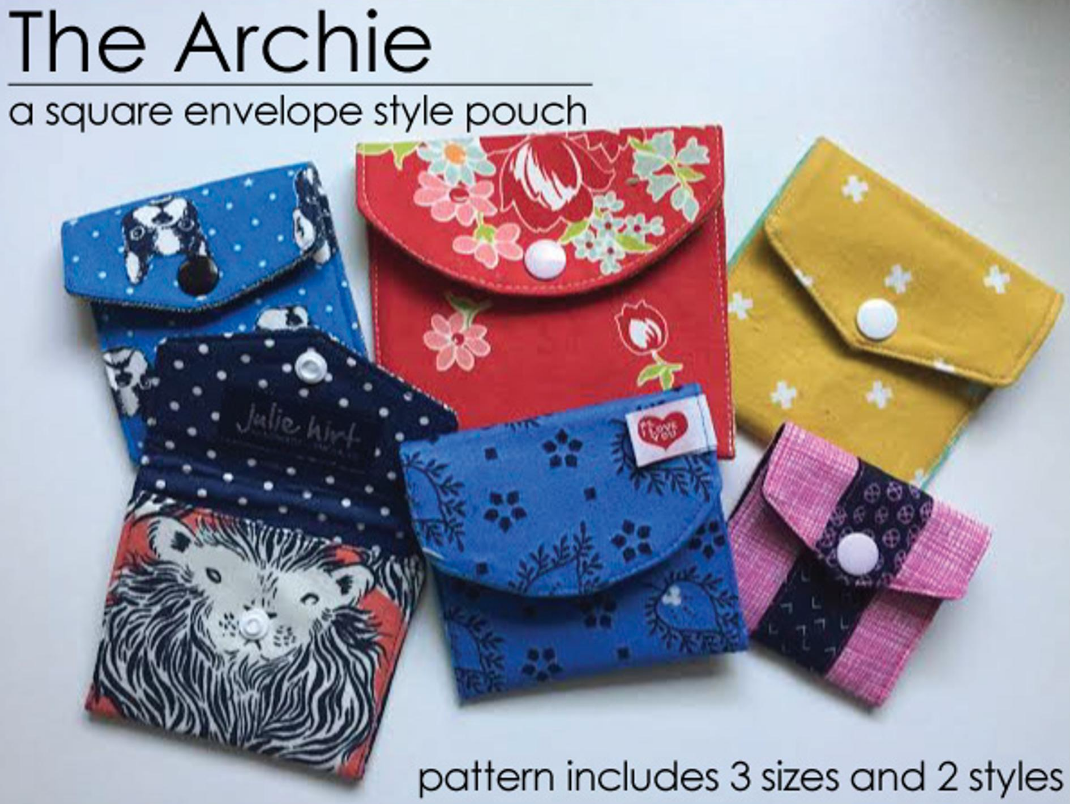 Free Sewing Pattern The Archie Square Envelope Pattern