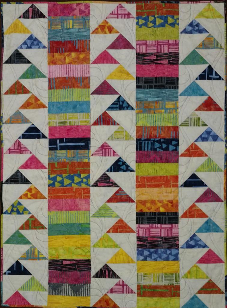 Free Quilt Pattern: Springtime Migration | I Sew Free