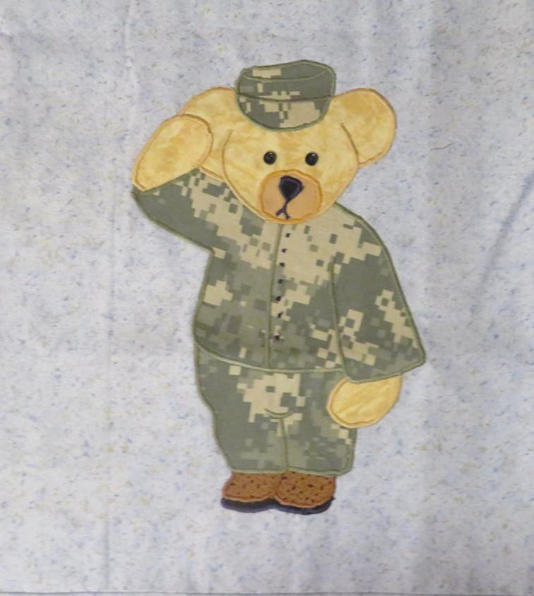 Free Quilt Pattern: Ben the Army Soldier | I Sew Free